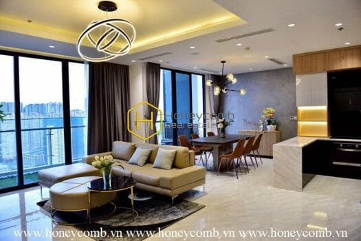 VGR91 10 result Amazing The luxurious 2 bedroom apartment at the top of Vinhomes Golden River