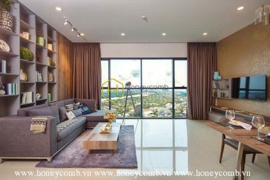 AS45 www.honeycomb 8 result Luxury design 2 beds apartment in The Ascent Thao Dien