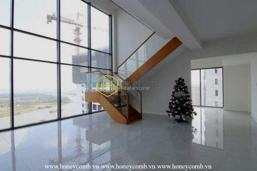 10 result City & river view Duplex apartment for rent in Gateway Thao Dien