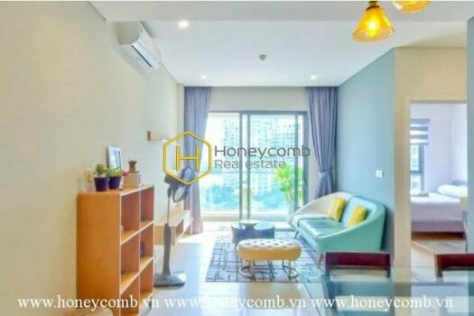 1 result 1 1 Lovely warm tone apartment with high-class interior in Diamond Island for lease