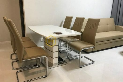 MAP221 www.honeycomb.vn 1 result Modern furniture in this brand new apartment for rent in Masteri An Phu