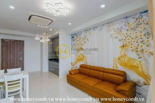 WS08 www.honeycomb 10 result Affordable apartment in Waterina Suites for lease: Colorful appearance, Lively living space