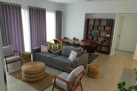 GW122 3 result Contemporary fully furnished 4 bedrooms apartment in Gateway Thao Dien