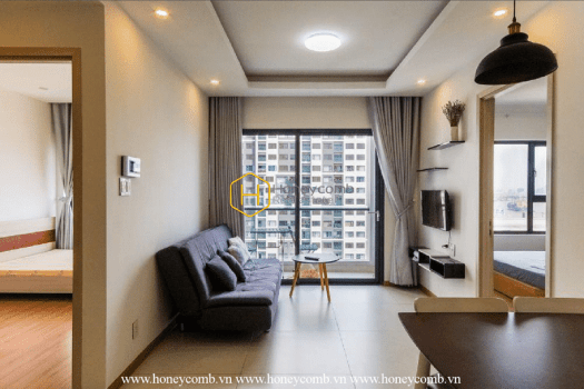 NC12 10 result Homey with 2 bedrooms apartment in New City Thu Thiem for rent