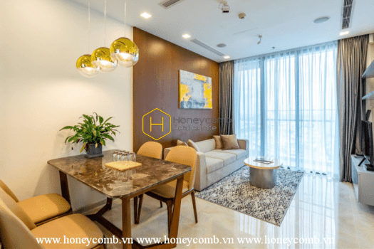 1 result 73 What a 2 bedrooms apartment with modern furniture in Vinhomes Golden River