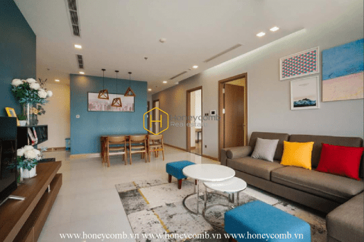 """8 result 5 A vast design in Vinhomes Central Park apartment that makes you say """" WOW """""""