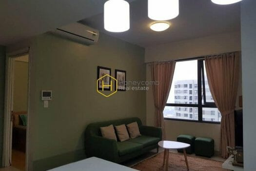 MTD336 1 result Beautiful one bedroom apartment with modern kitchen in Masteri Thao Dien for rent