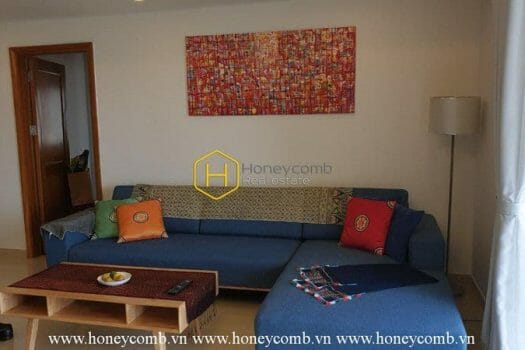River Garden www.honeycomb.vn RG48 1 result Perfect interior with a 3-bedroom apartment in River Garden for rent