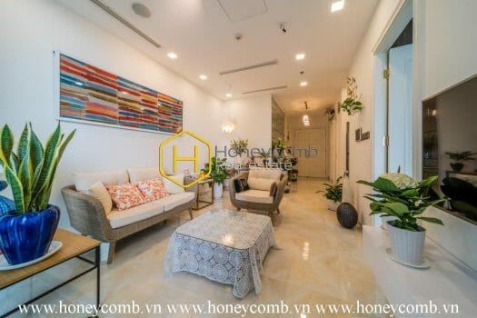 VGR66 7 result The 2 bedrooms-apartment with Tropical style is so fresh in Vinhomes Golden River