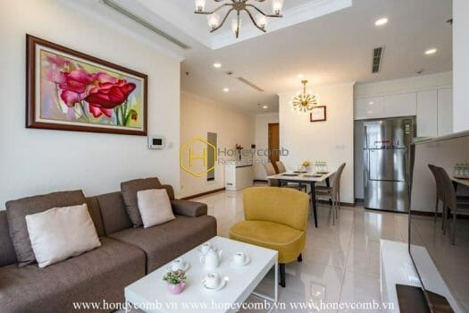 VH1683 1 result Keep your moments in this elegant Vinhomes Central Park apartment