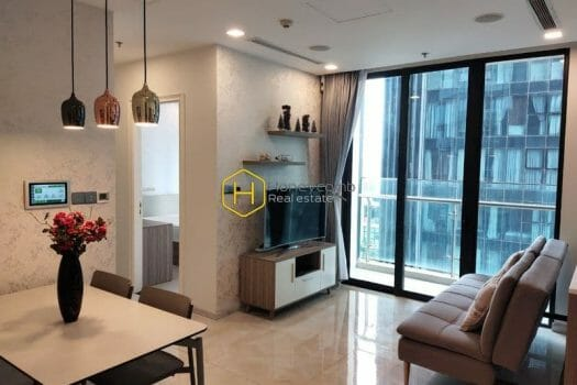 z2510160964858 2b05807d4029fa2d542cc5093cbcf099 result Relax with the peaceful atmosphere in this elegant furnished apartment in Vinhomes Golden River