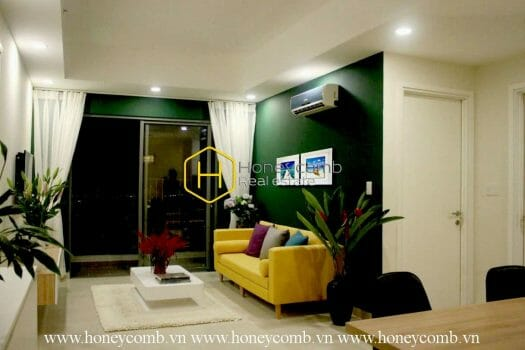 1 result Two Bedrooms Apartment With High Floor And River View In Masteri Thao Dien For Rent