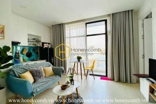 2 6 result Indulge delicate decoration in District 2 serviced apartment