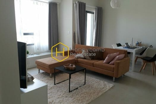 MTD2494 3 result A Masteri Thao Dien apartment with rich brown furniture and a predominantly white