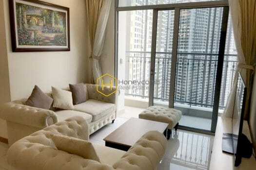 NN 28 Well lit apartment with full interiors for rent in Vinhomes Central Park