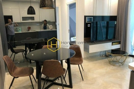 VGR13 1 result Two bedrooms apartment with modern design and nice view in Vinhomes Golden River