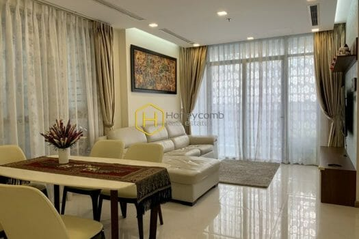 VH1748 1 result Harmonize with this stunning apartment with neoclassical design in Vinhomes Central Park