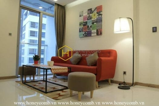 VH1765 2 result Interfusion of youthful and urban style in this Vinhomes Central Park apartment will make you impressed