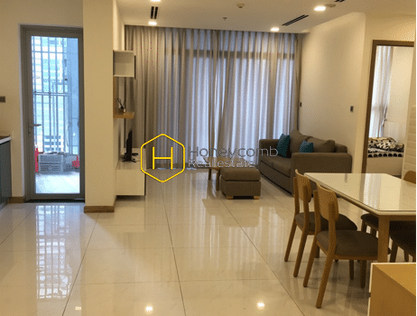 1 result 9 A Vinhomes Central Park apartment for rent with abstract modern furniture