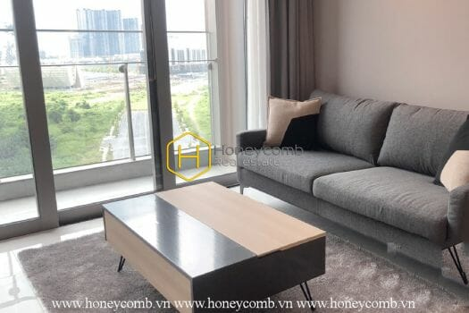 EC112 1 result Excellent design with poetic view in Empire City apartment