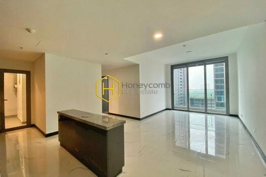 EC88 8 result Embracing the beauty of the white tone in this unfurnished apartment in Empire City