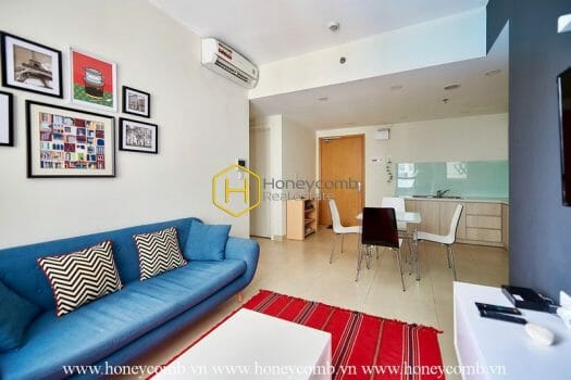 MTD1470 5 result 1 bedroom apartment with modern style in Masteri Thao Dien