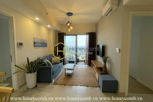 MTD391 3 result Two bedrooms apartment with river view and new furniture in Masteri Thao Dien for rent
