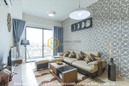 MTD423 11 result Three bedrooms apartment with nice furniture and low floor in Masteri Thao Dien for rent