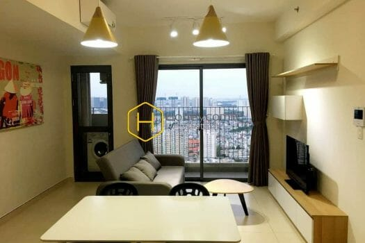 MTD587 4 result High Floor One Bedroom Apartment With Pool View In Masteri Thao Dien For Rent