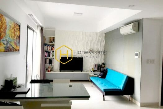 MTD730 12 result Two bedrooms apartment at low floor in Masteri Thao Dien for rent