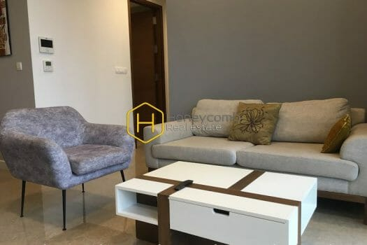 NS114 16 result A whole new apartment in fresh white is now for rent at Nassim Thao Dien