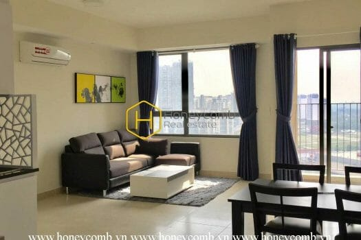 1 result 1 Two bedrooms apartment with wonderful living room in Masteri Thao Dien for rent