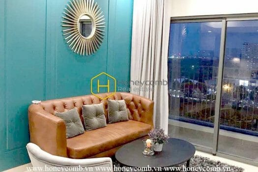 A result Western with nice designs 2 beds apartment in Masteri Thao Dien, District 2