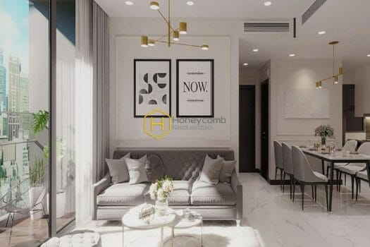 EC138 9 result Admire the glamor and elegance presenting in this Empire City apartment