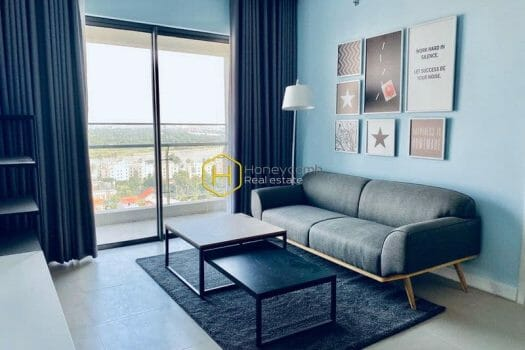 GW235 5 result Cozy and modern design of the apartment for rent in Gateway Thao Dien