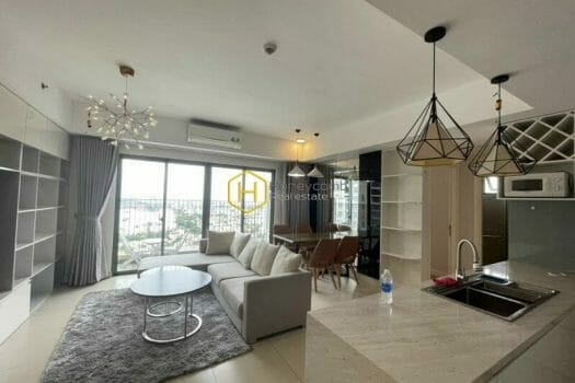 MTD824 1 result Express your individualism in this high-tech style apartment at Masteri Thao Dien